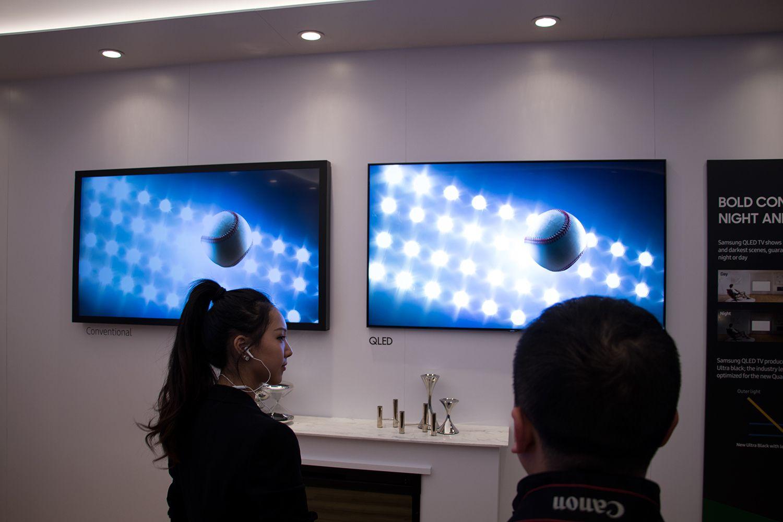 Samsung kommer med QLED-modeller i flere prisklasser, design og størrelser.