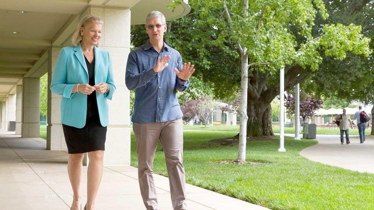 Apple og IBM sammen i bedriftsmarkedet