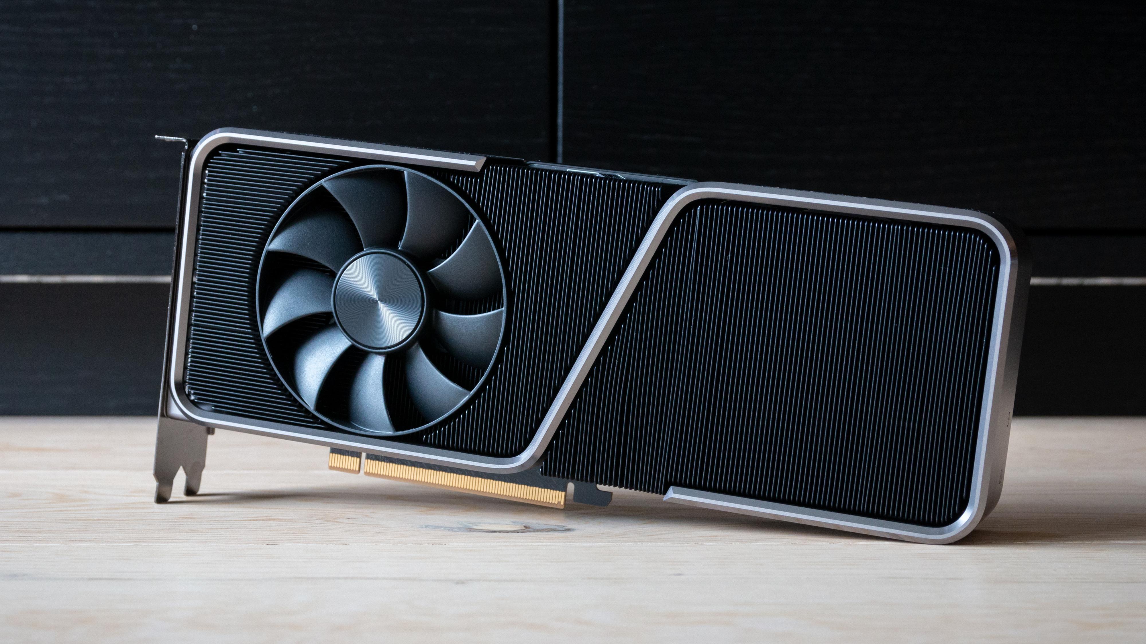 Nvidia RTX 3070 Ti FE.