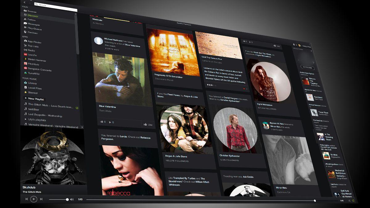Slik ser splitter nye Spotify ut