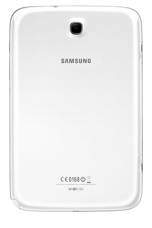 Kameraet i Galaxy Note 8.0 er på skarve 8 megapiksler. Akkurat hvor godt det er, sammenliknet med de beste kameratelefonene, vet vi ikke ennå.Foto: Samsung