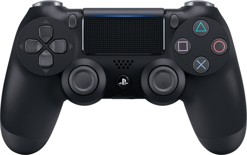 Dette er PlayStation 4-kontrolleren.