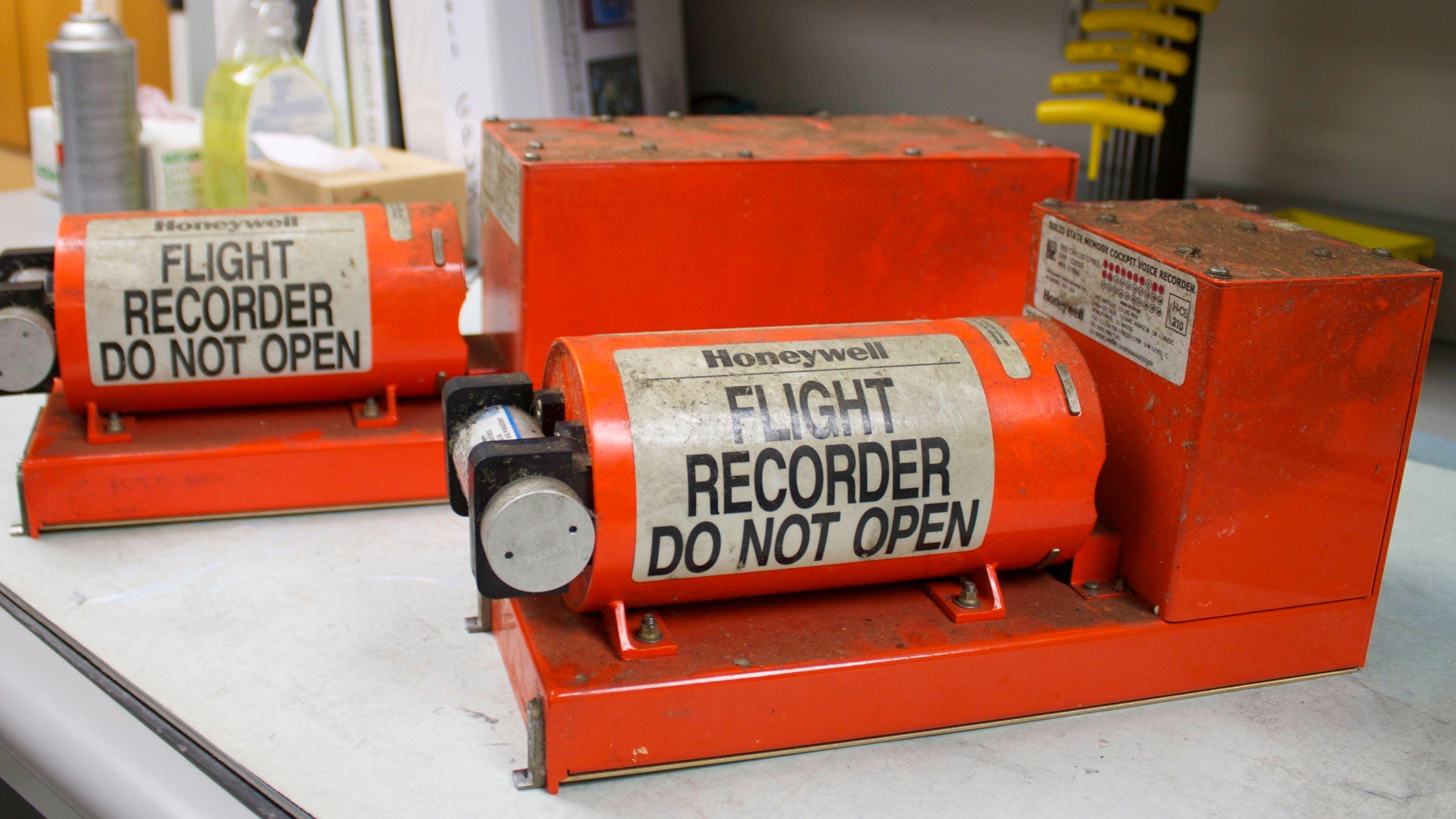 Slik overlever de svarte boksene en flystyrt