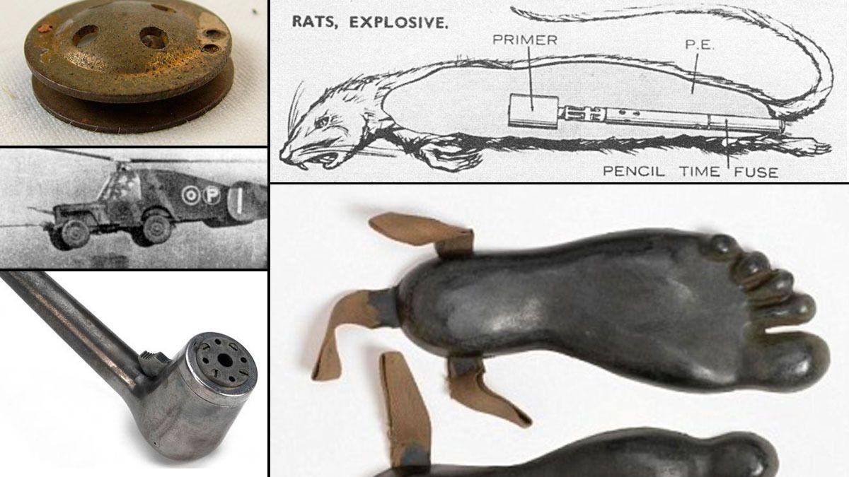 10 sprø oppfinnelser fra 2. verdenskrig