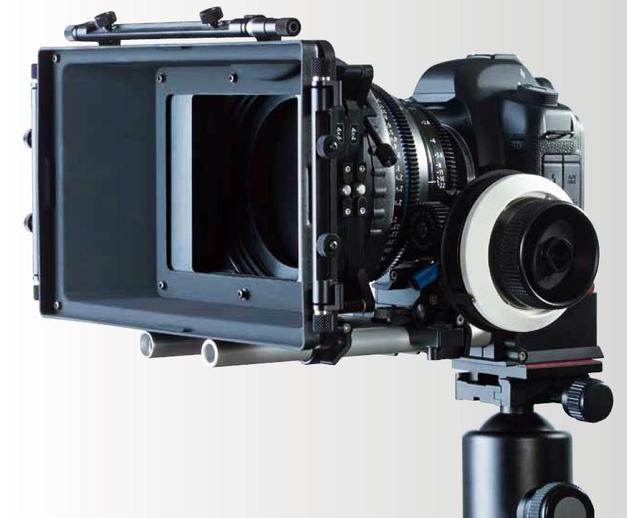 Filmrigg: Dette oppsettet blir nok mer og mer vanlige på filmopptak i fremtiden. Her ser vi en Canon 5D med et Carl Zeiss fastobjektiv med følgefokus.