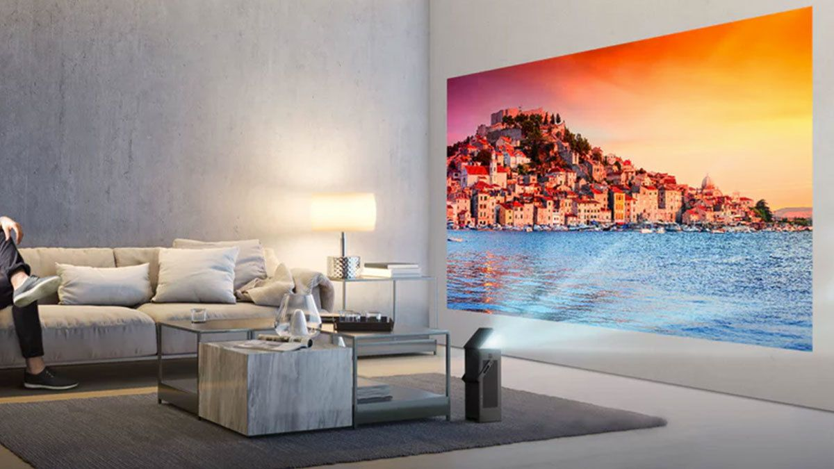 LGs lille projektor byr på 150-tommers 4K-bilde