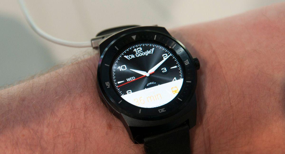 LG G Watch R.Foto: Finn Jarle Kvalheim, Amobil.no