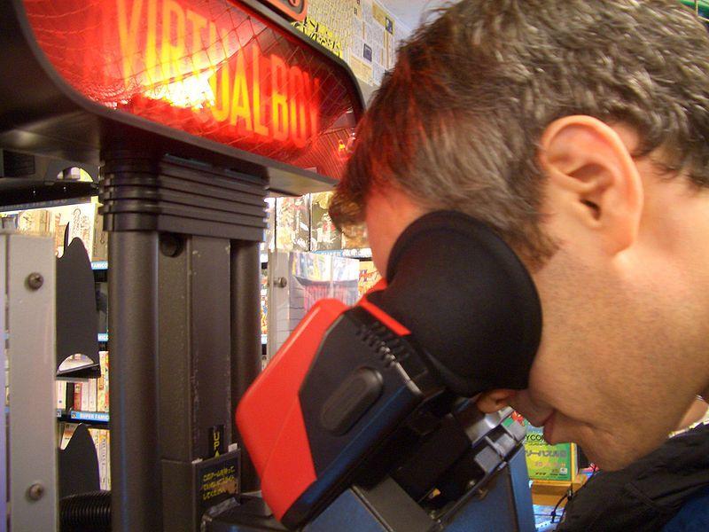 Virtual Boy var nok ikke så bra for nakken. Foto: Wikimedia