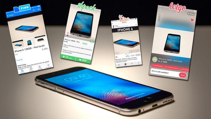Apple iphone 6 plus Kjøpe, selge og utveksle annonser de