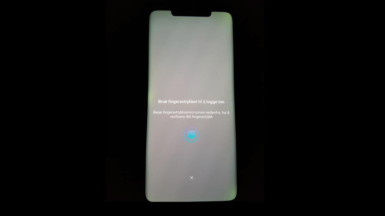 «Gluegate»: Skjermen på en del Huawei Mate 20 Pro-telefoner blir grønn i kantene