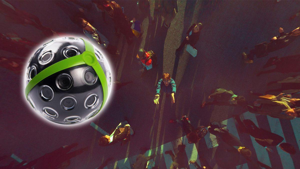 Panoramaball lar deg ta unike bilder fra luften