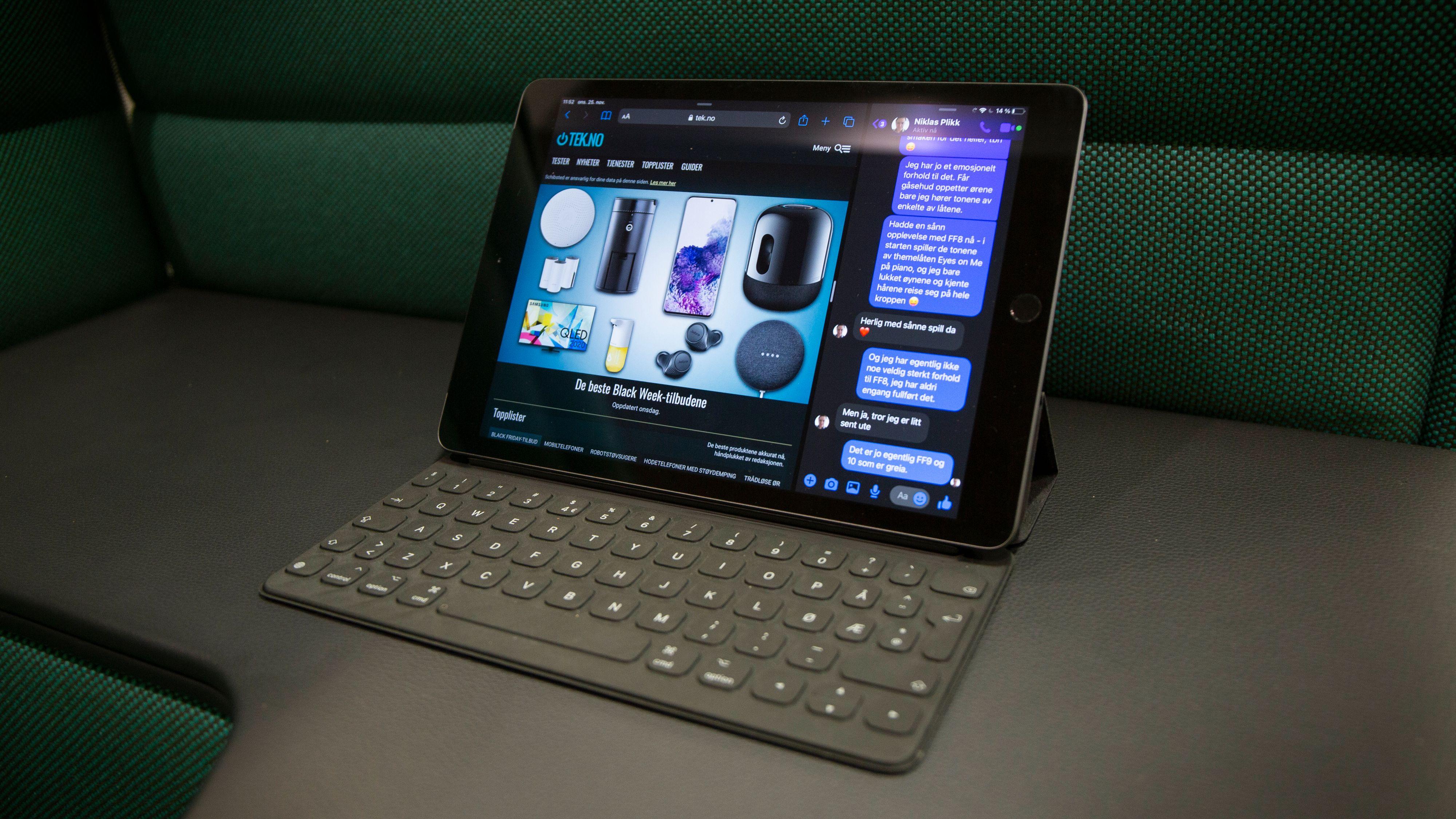 Med iPadOS kom også muligheten for multitasking, som var kjærkommen - når du lærer deg hvordan den brukes.