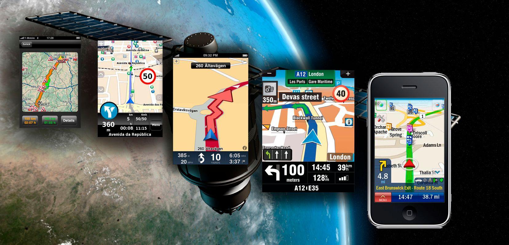 Navigasjonsprogrammer for Iphone