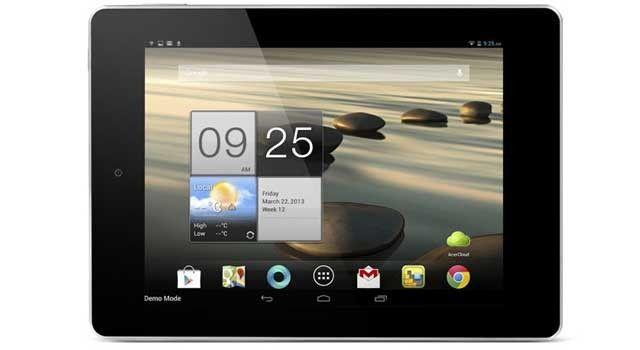 Det første bildet av Acer A1-810.Foto: via PhoneArena