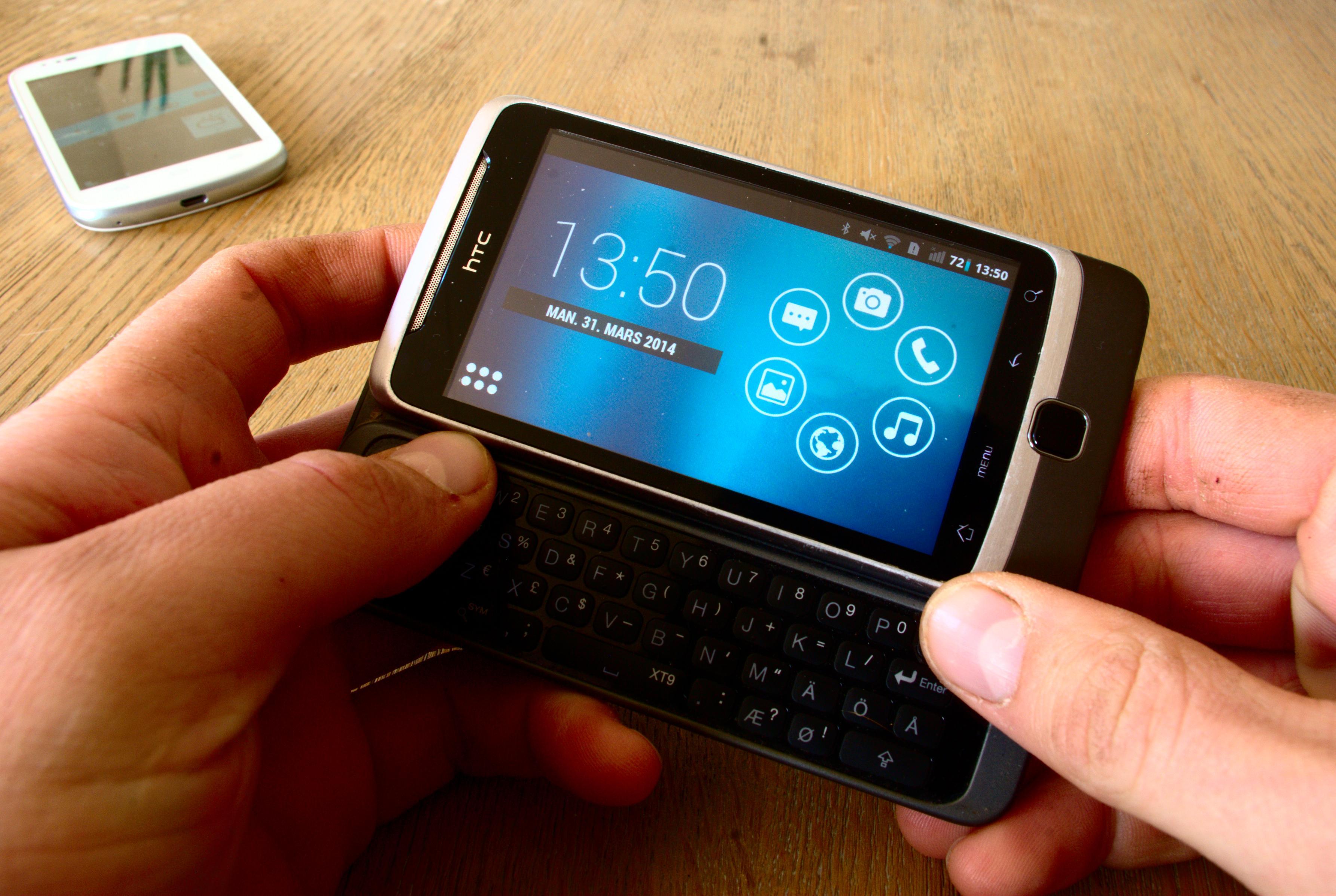 Smart Launcher 2 gjorde en treg HTC Desire Z rask. Foto: Einar Eriksen
