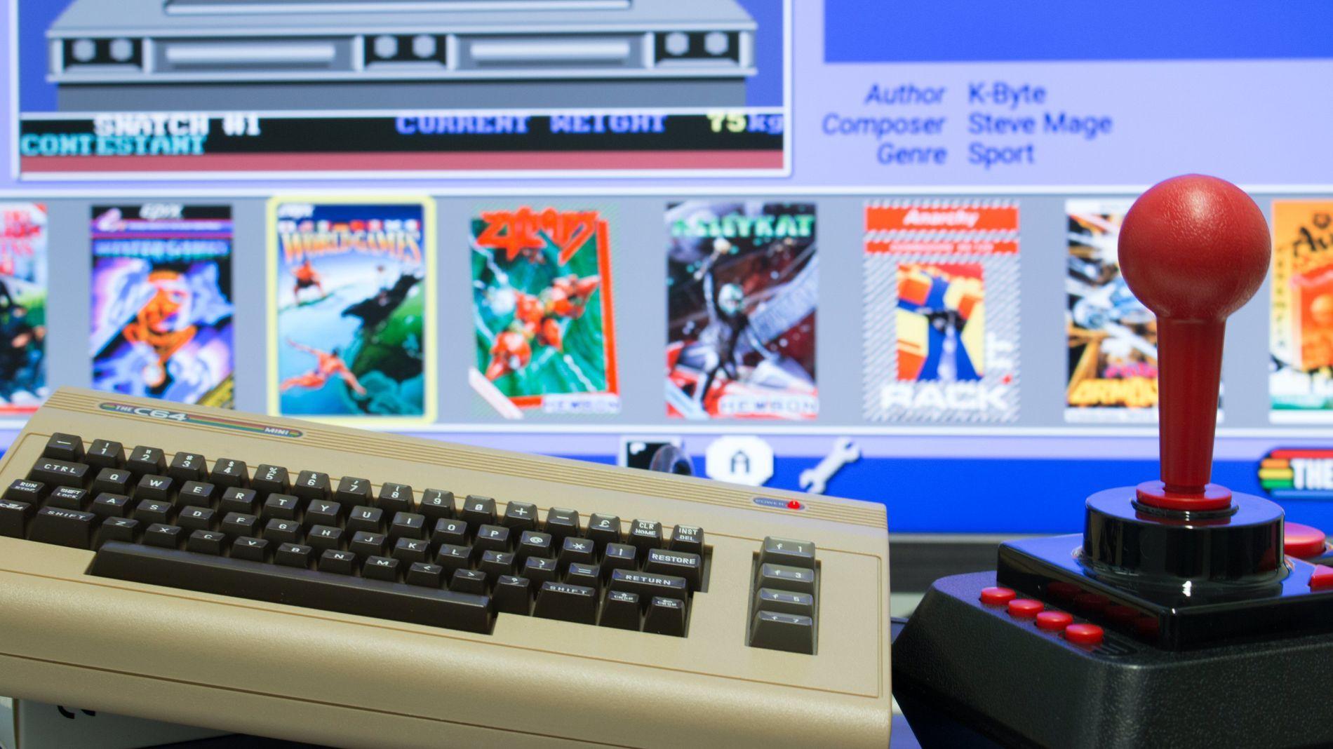 Gamle spill kan være gøy, her er The C64 Mini.