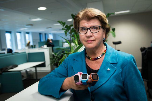 Forbrukerrådet i Norge, her ved forbrukerdirektør Randi Flesland, er også svært kritiske til smartlokker for barn. Bilde: Forbrukerrådet