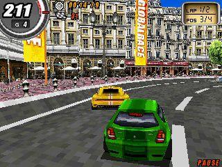 Bilspillet Global Race. (Klikk for større bilde)