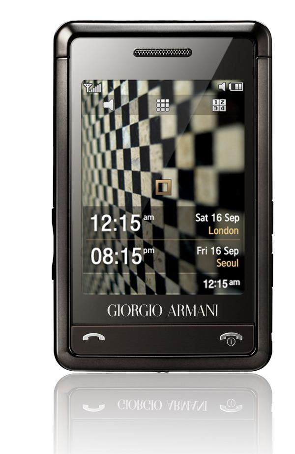 Samsung P520 Giorgio Armani (Foto: Samsung)