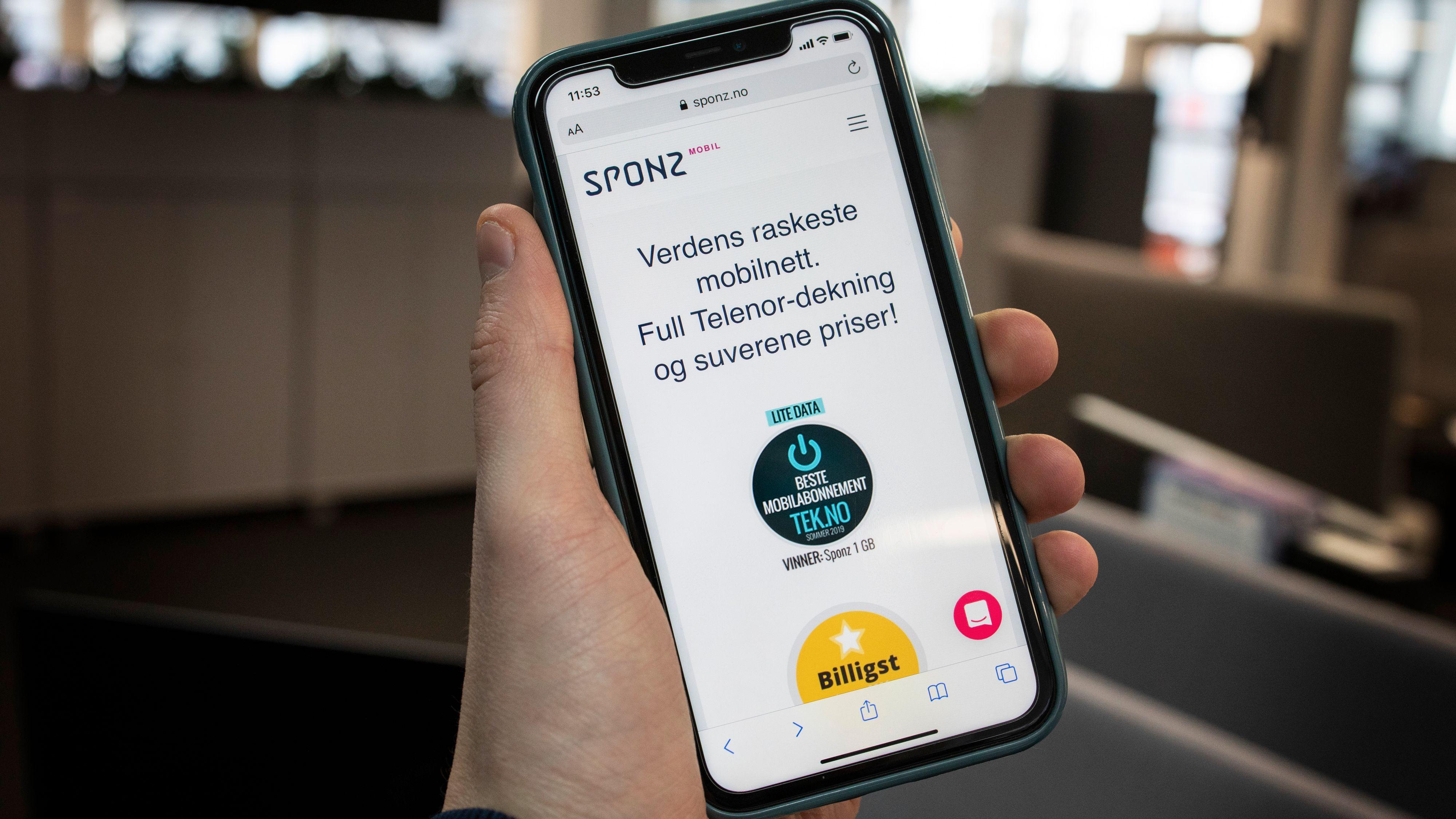 Sponz opphører og Hudya overtar mobilkundene 1. mars.
