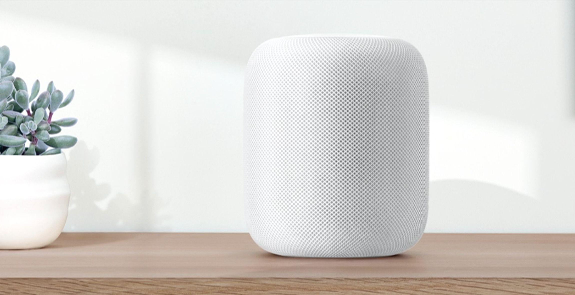 Konkurrent: Apple HomePod. Bilde: Skjermdump/Apple