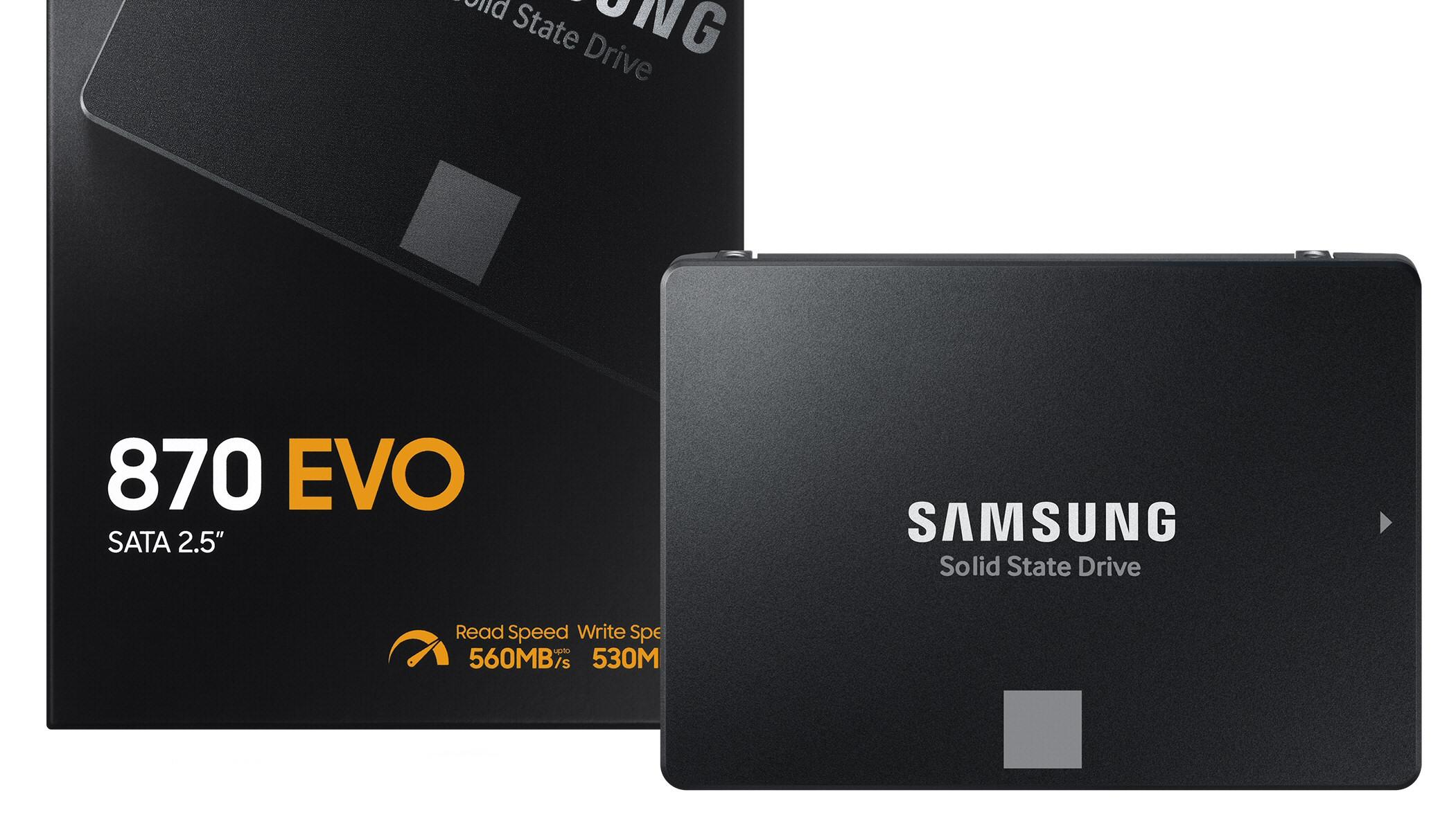 Samsung slipper ny 2,5-tommers SSD