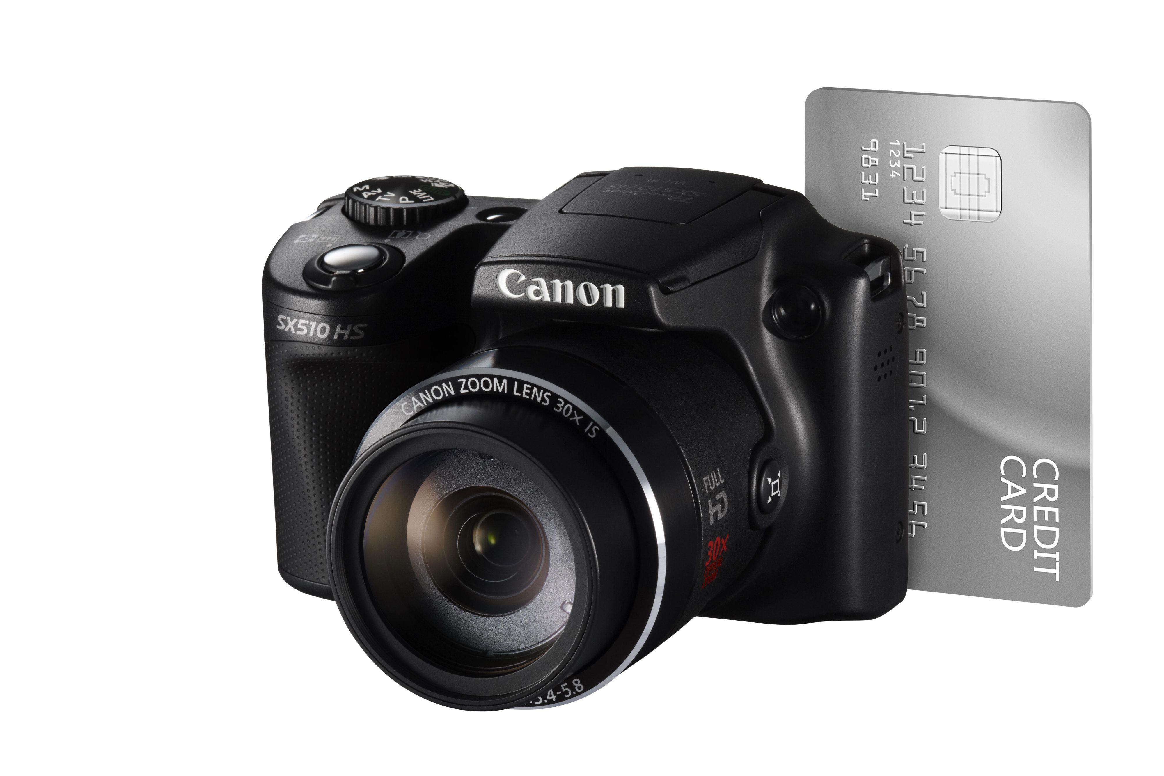 SX510 HS er ikke store karen.Foto: Canon