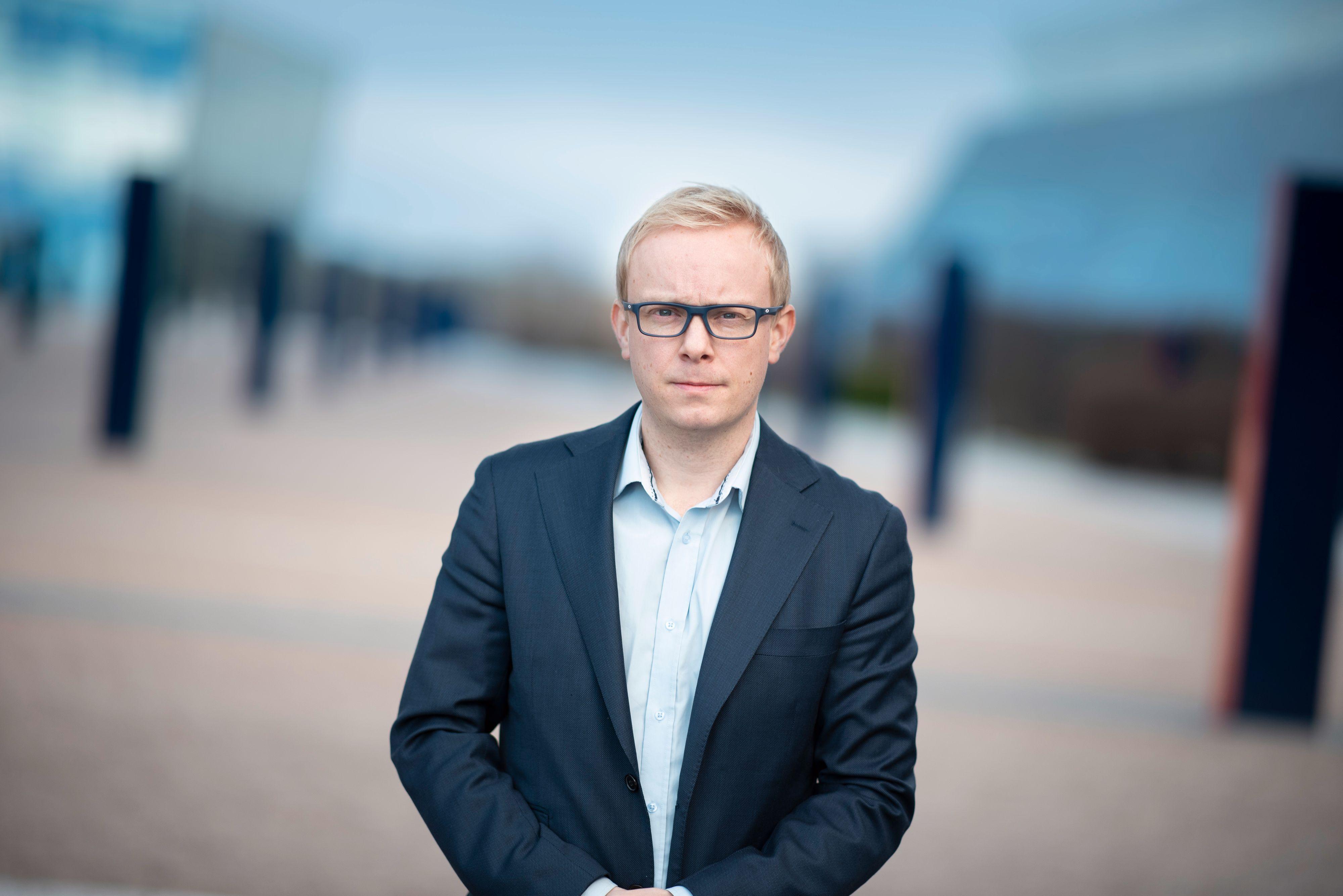 Magnus Line, informasjonssjef i Telenor Norge.