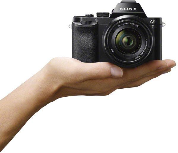 Sony A7.Foto: Sony