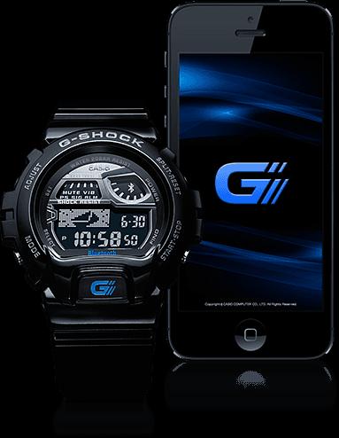 Casio G-Shock GB-6900AA trenger en iPhone-app hvis du vil bruke mobilfunksjonene.Foto: Casio
