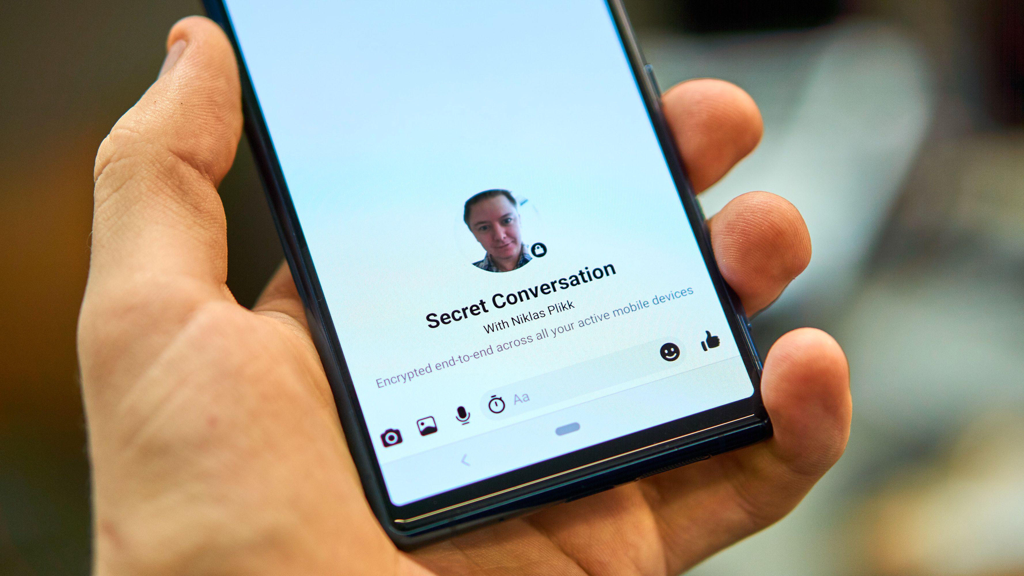 Snart kan du ringe kryptert over Messenger