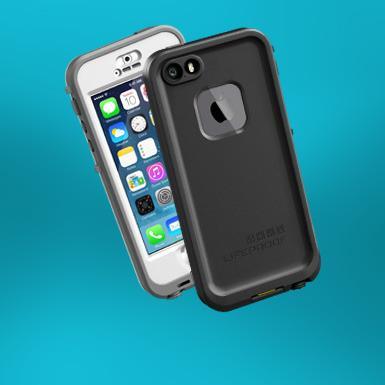 Lifeproof Fre skal beskytte telefonen min mot vannskader.