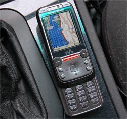 GPS-programmet Amaze GPS er gratis å laste ned, og kan vise kart.