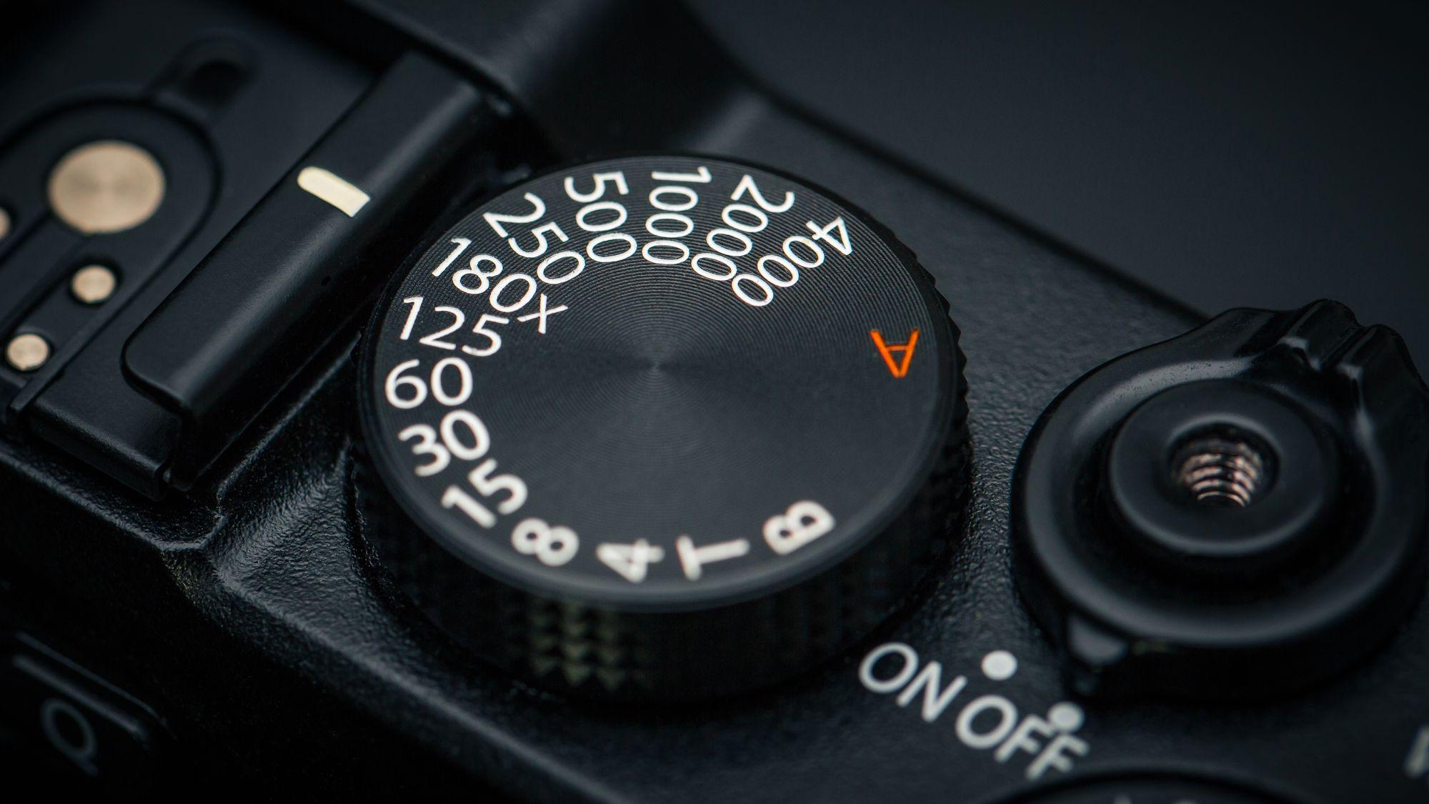 X-E2s lukkertidshjul. (Foto: Johannes Granseth)