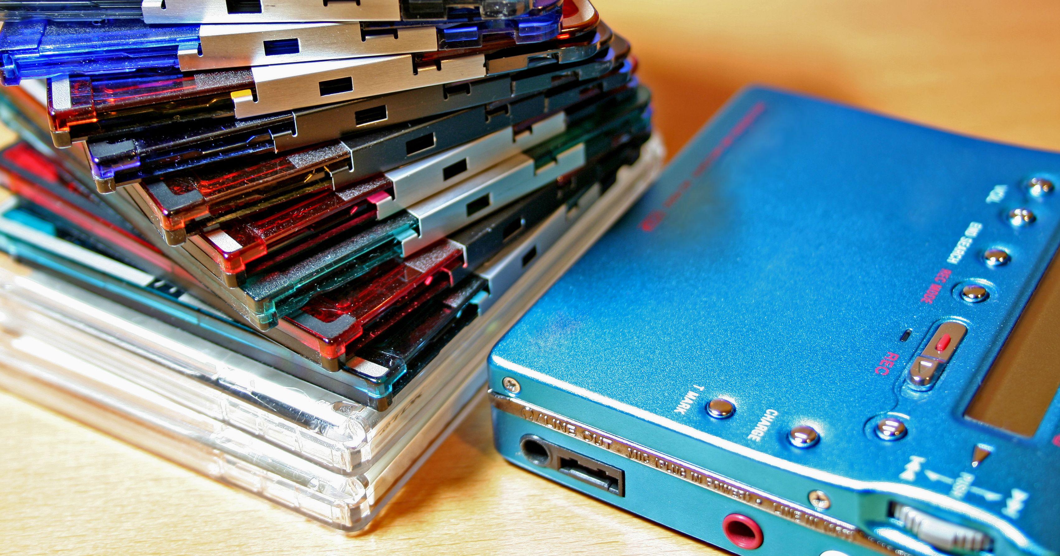 MiniDisc slo aldri skikkelig an blant massene. (Foto: Shuttertstock)