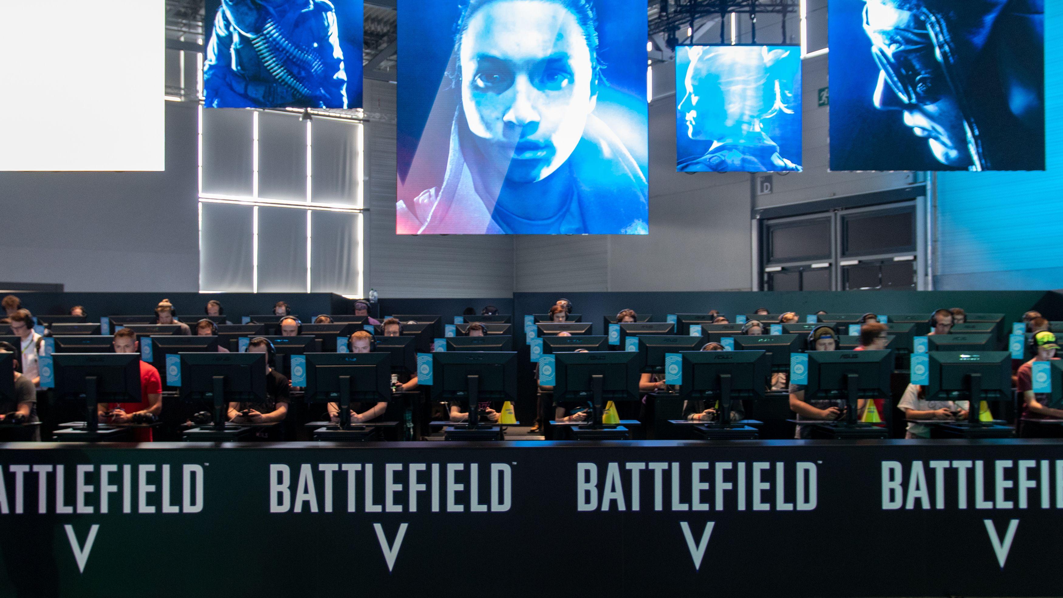 Under Gamescom spilte vi 64 spillere mot hverandre i Battlefield V.
