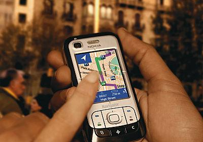 GPS er praktisk på storbyferie. (Foto: Nokia)