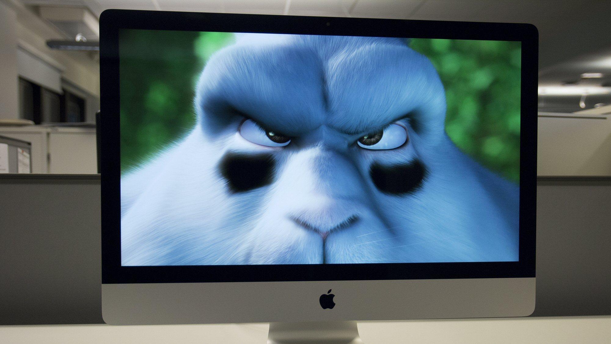 Den nye skjermen skal visstnok ligne på den man finner i Apples 5K-iMac, her avbildet.