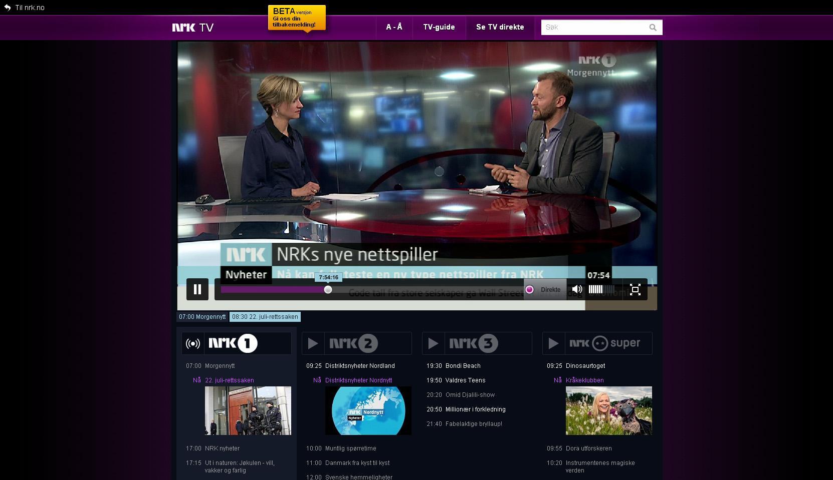 Se TV direkte
