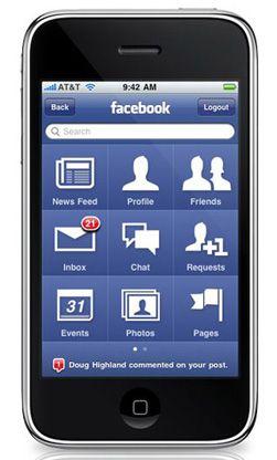 Slik blir startskjermen for Iphone 3.0. (Foto: Boy Genius Report)