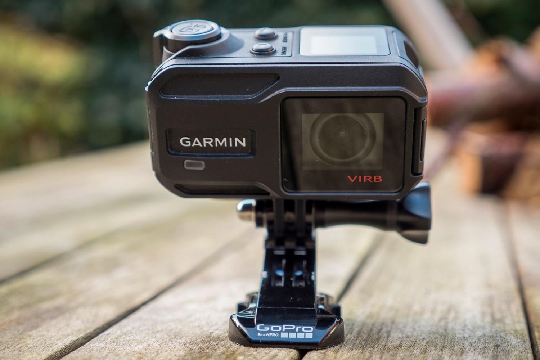 Virb XE kan bruke tilbehør fra GoPro.