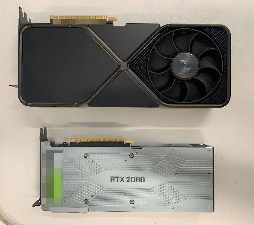 Bildet skal vise Nvidias RTX 3090.