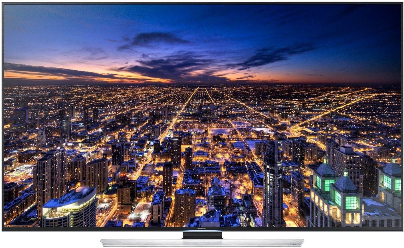 Ikke alle TV-modeller har falt i pris. Denne 85-tommeren fra Samsung har kostet 75 000 kroner de siste tre månedene. .Foto: Samsung