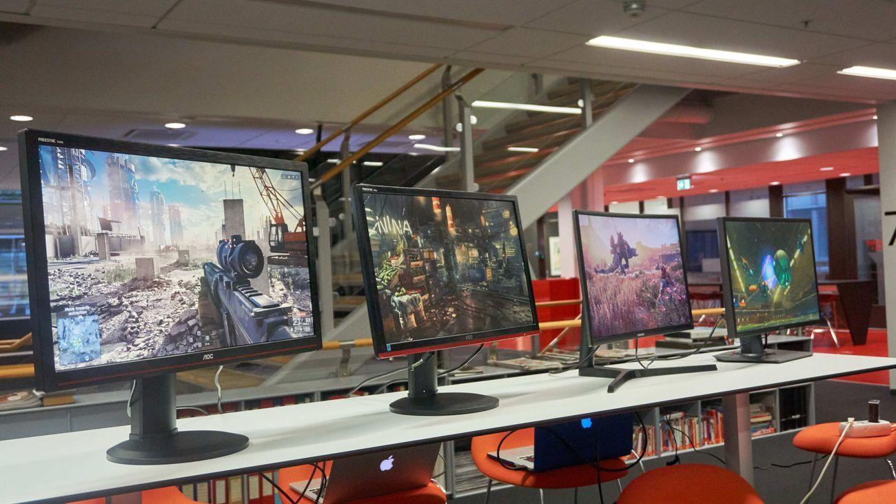 Billige skjermer med 144 hz er det mange av.