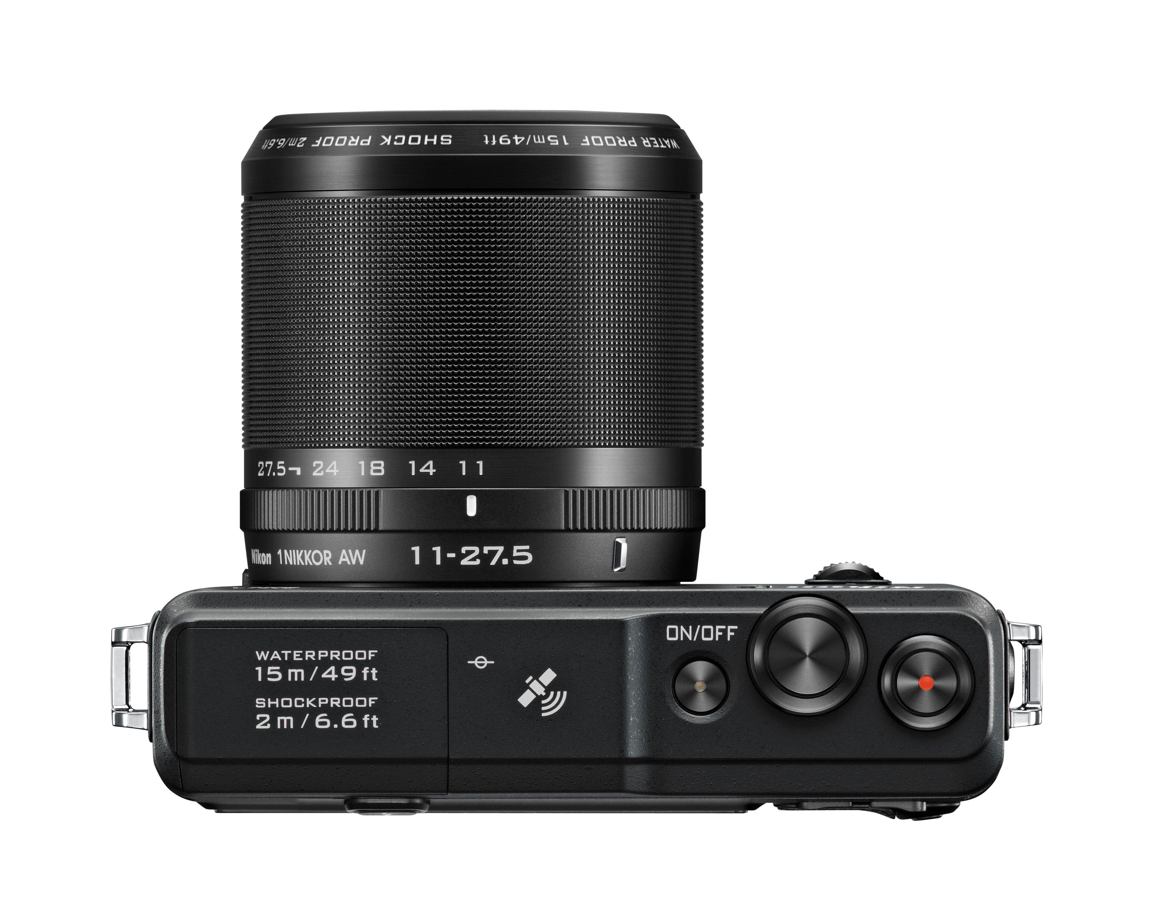 Nikon1 AW1 topp.Foto: Nikon