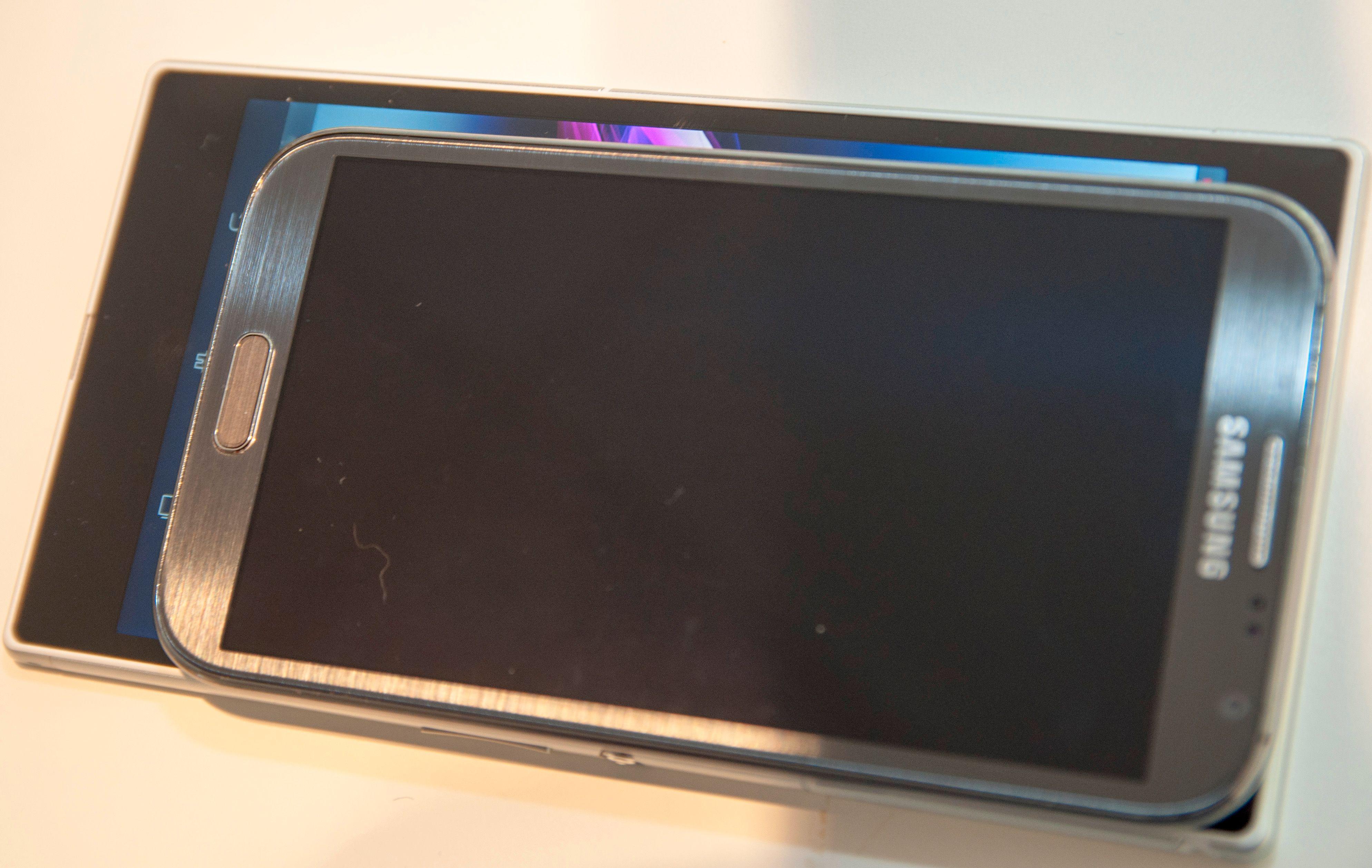Trodde du Galaxy Note II hadde stor skjerm?