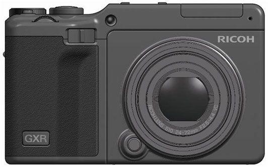 GXR påmontert objektiv tilsvarende 24-72mm - likner svært på en GR Digital III.