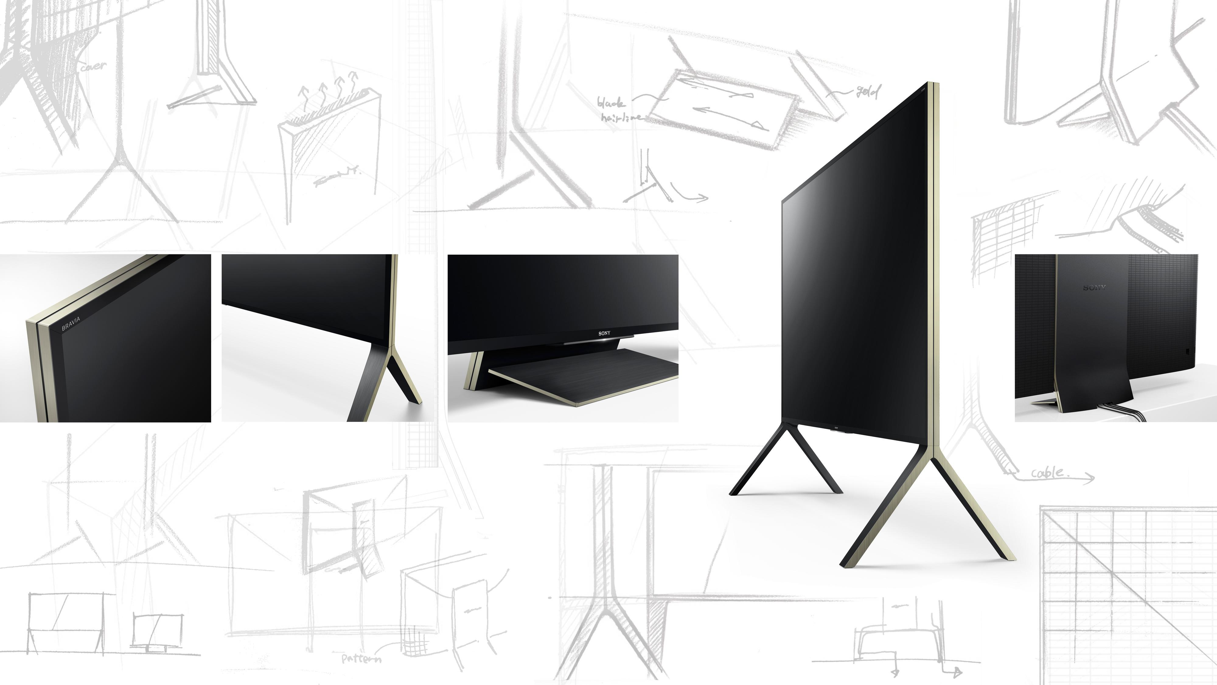 Designdetaljer fra ZD9-serien.