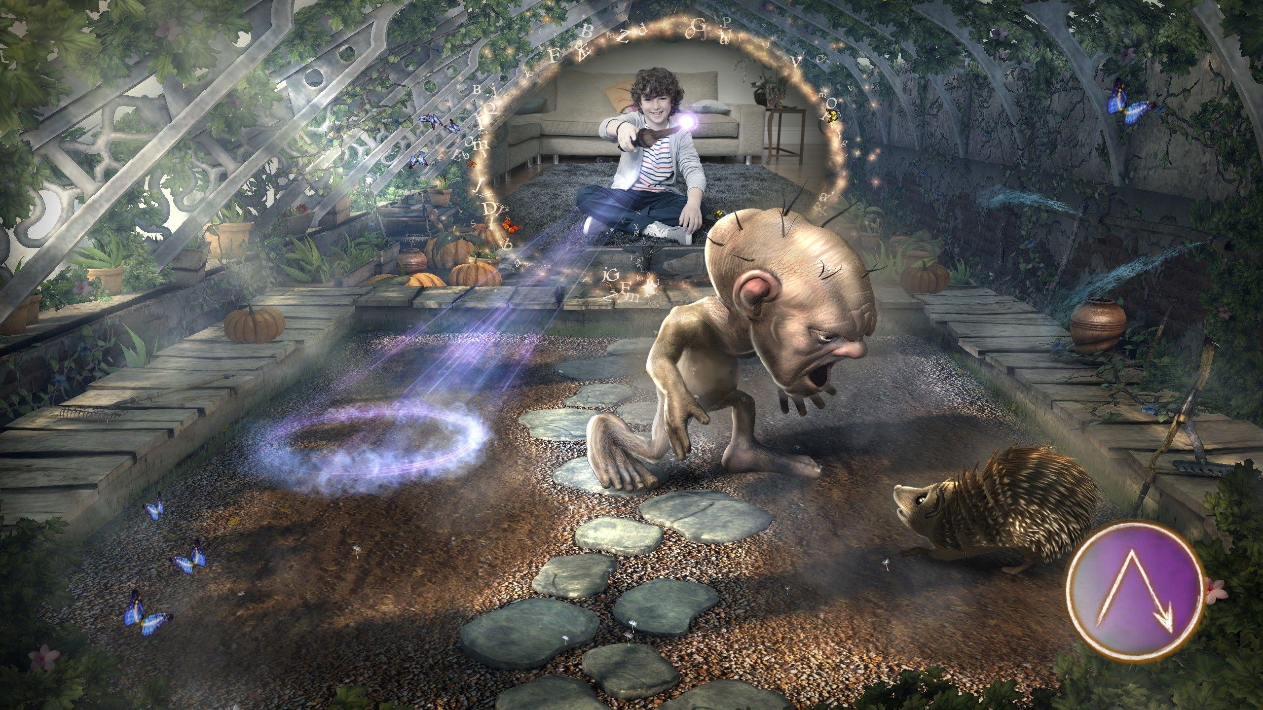 Wondebook skaper en tredimensjonal virkelighet på en todimensjonal skjerm.Foto: Sony PlayStation