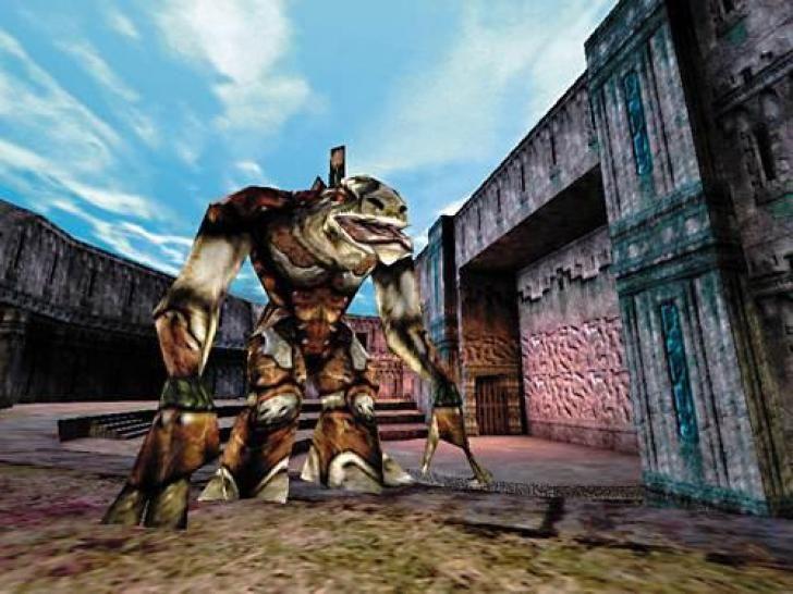 Unreal hadde penere 3D-grafikk enn det aller meste man hadde sett tidligere.